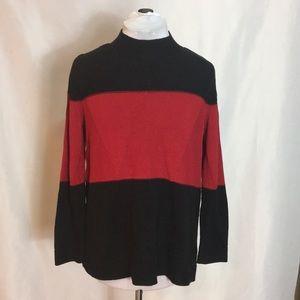 Karen Scott mock neck sweater